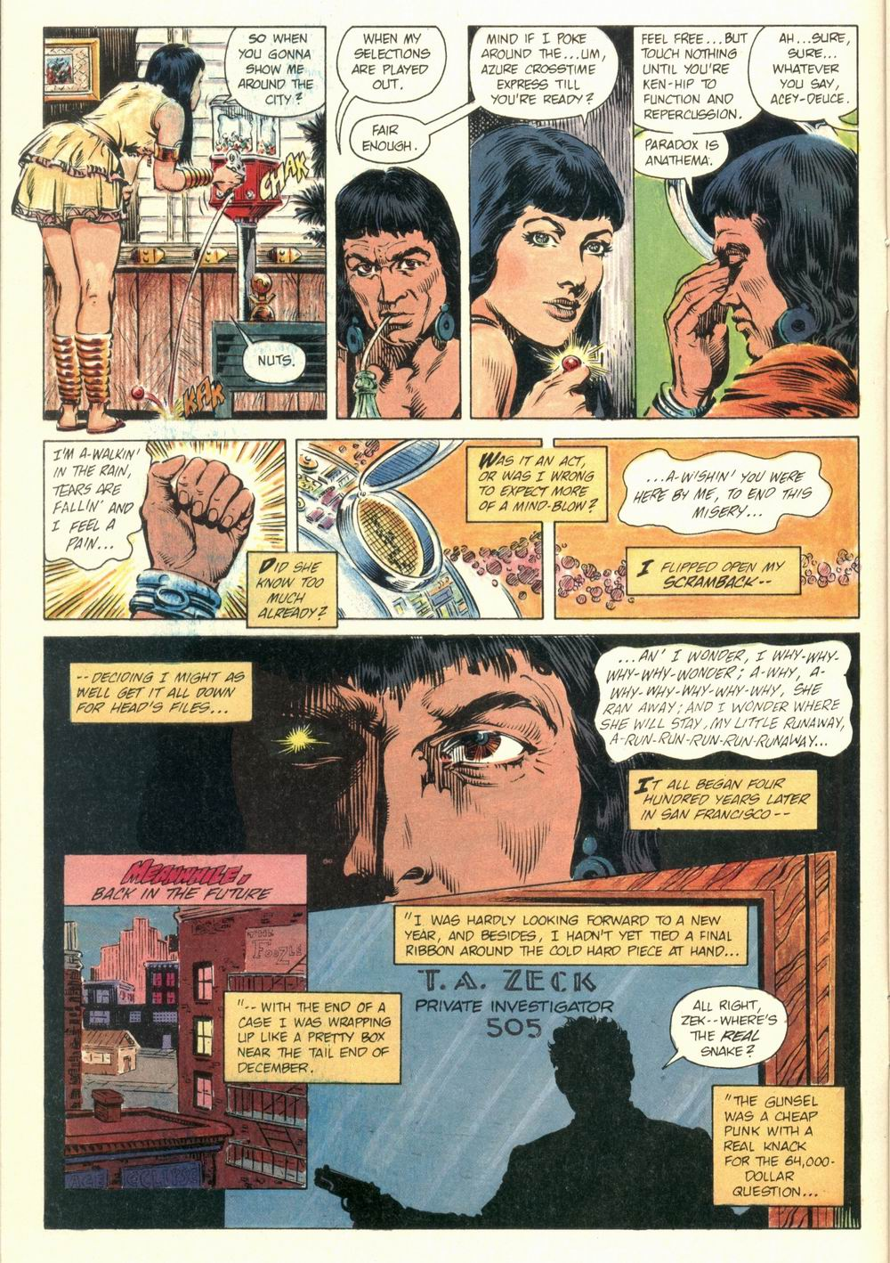 Read online Aztec Ace comic -  Issue #1 - 12