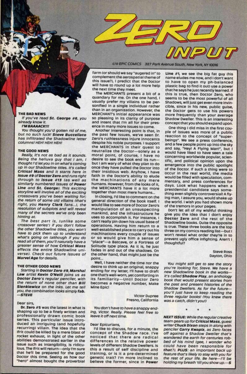 Read online Doctor Zero comic -  Issue #7 - 31