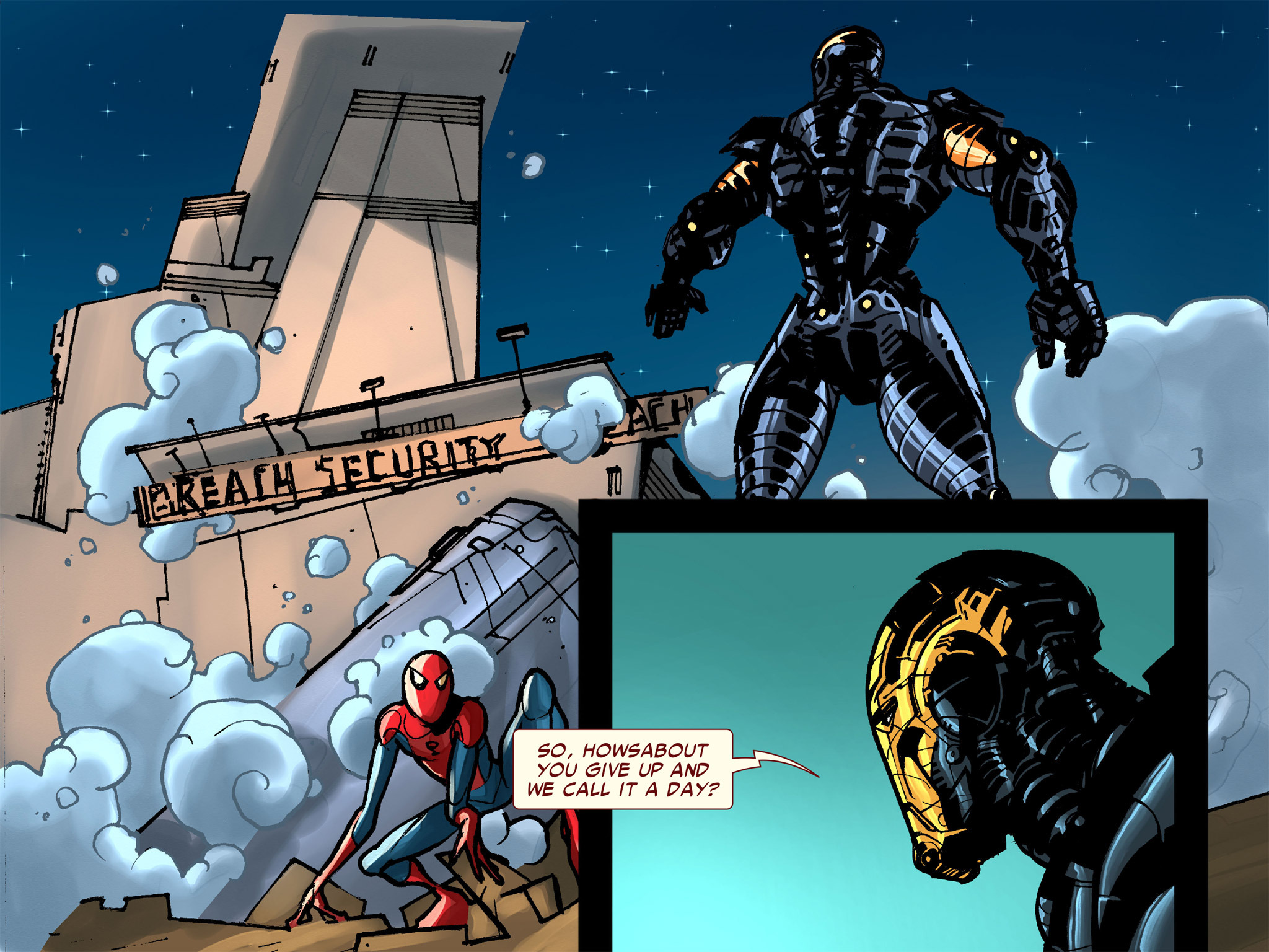 Read online Amazing Spider-Man: Who Am I? comic -  Issue # Full (Part 1) - 135