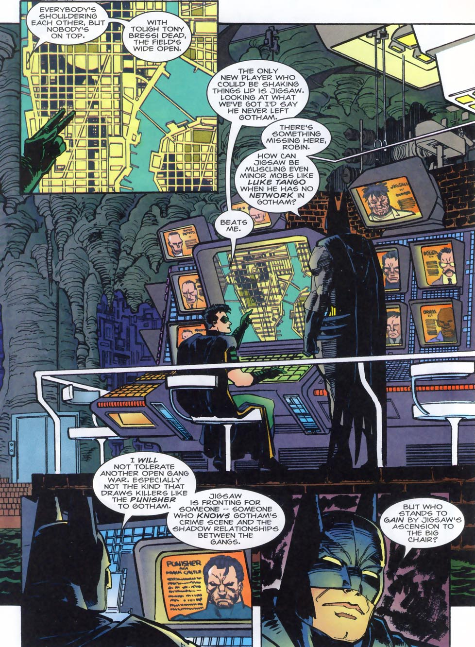 Read online Punisher/Batman: Deadly Knights comic -  Issue # Full - 18