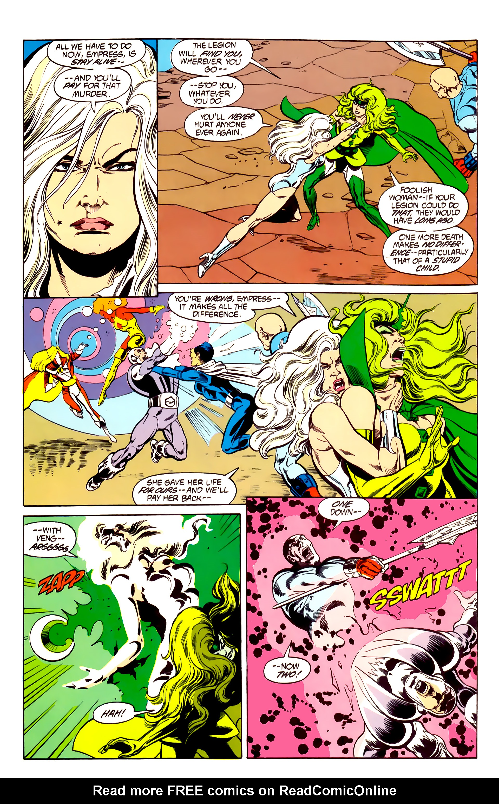 Legion of Super-Heroes (1984) 26 Page 25