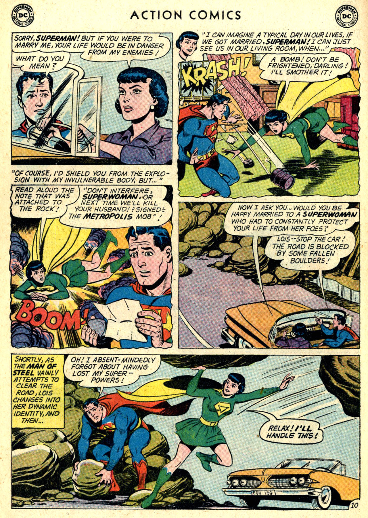 Read online Action Comics (1938) comic -  Issue #274 - 12