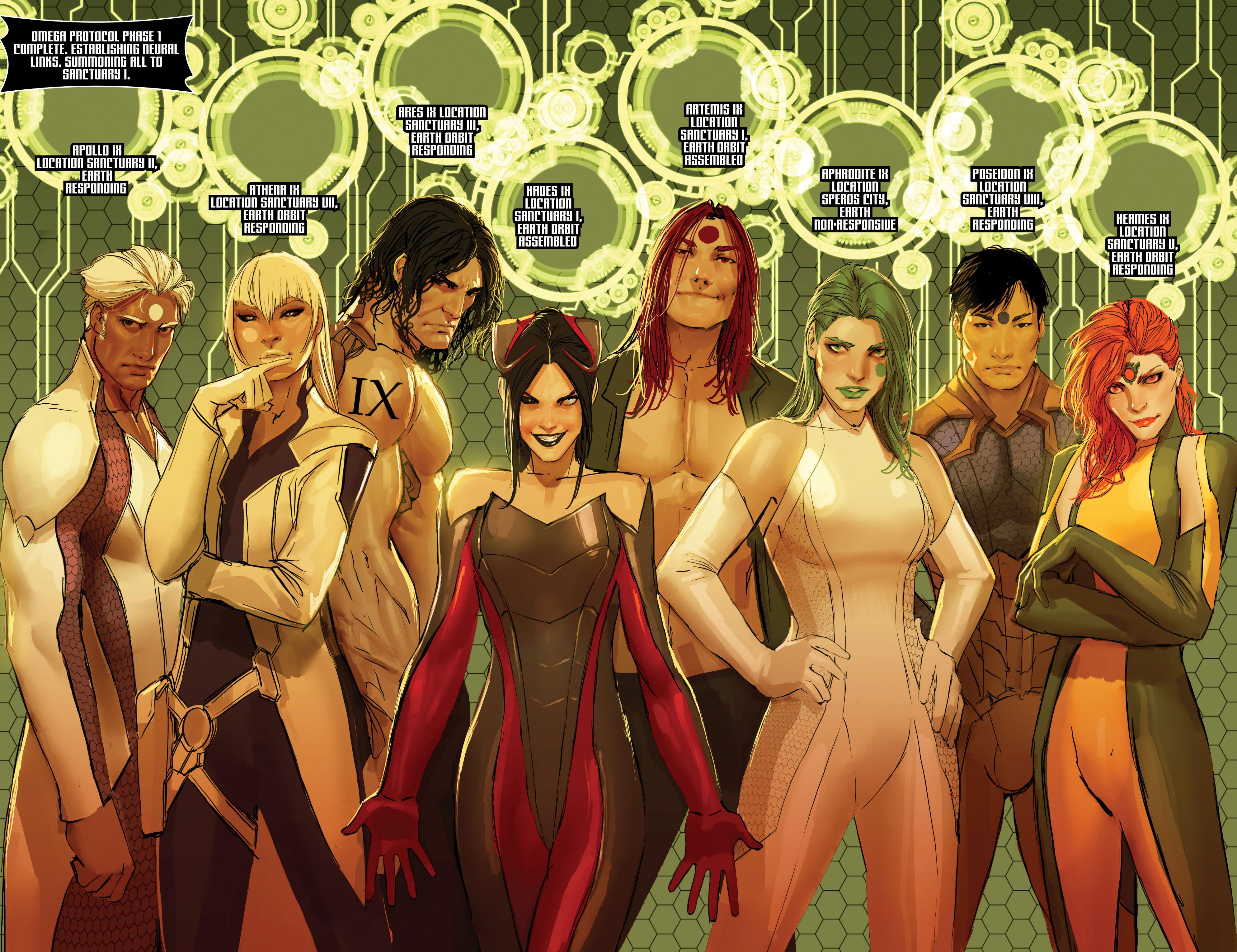 Read online Aphrodite IX (2013) comic -  Issue #Aphrodite IX (2013) _TPB 2 - 68