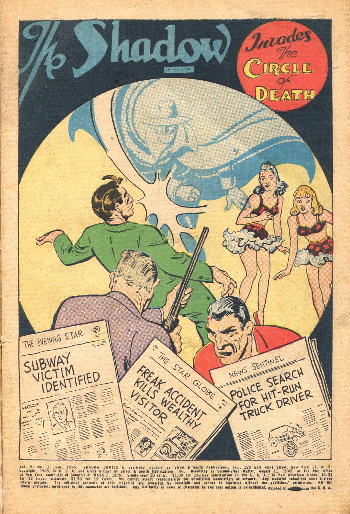 Read online Shadow Comics comic -  Issue #51 - 4