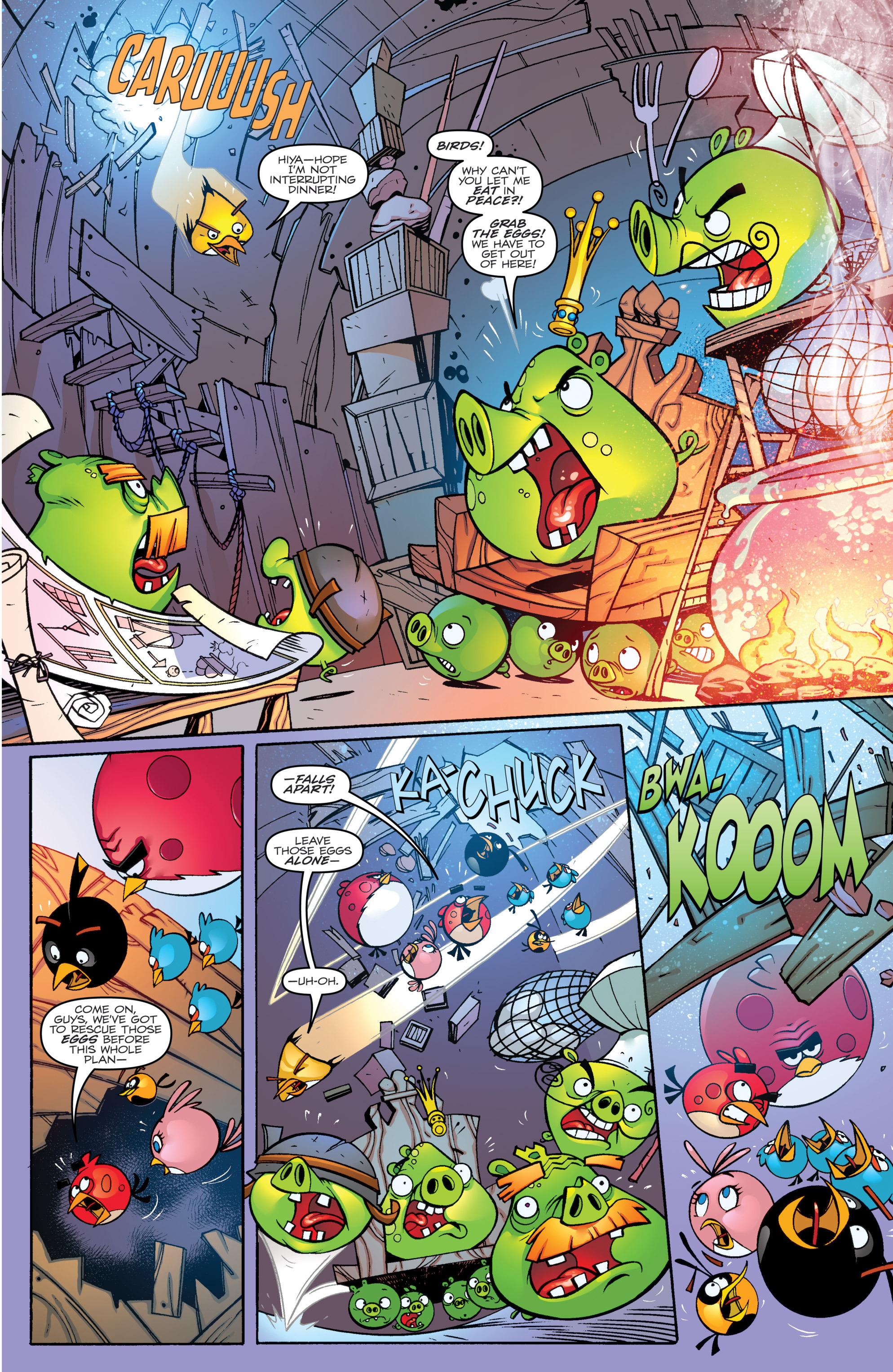 Read online Angry Birds Transformers comic -  Issue #1 - 9