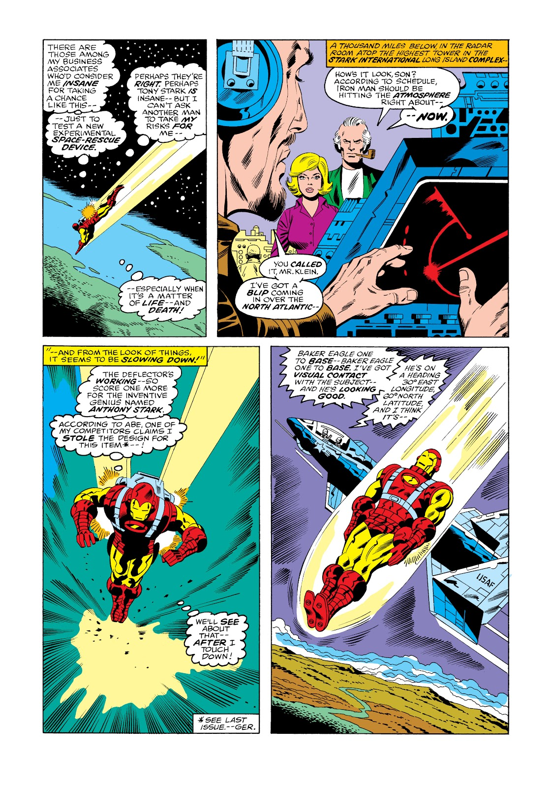Read online Marvel Masterworks: The Invincible Iron Man comic -  Issue # TPB 11 (Part 3) - 49