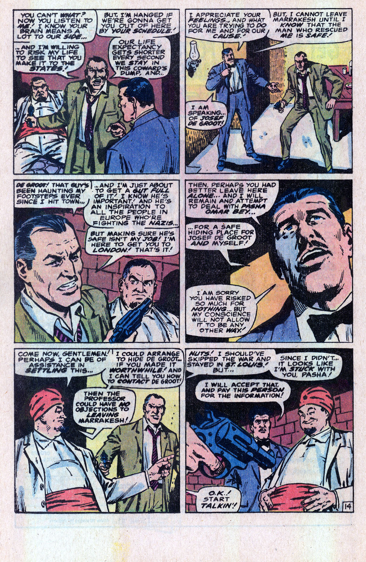 Read online Sgt. Fury comic -  Issue #166 - 23