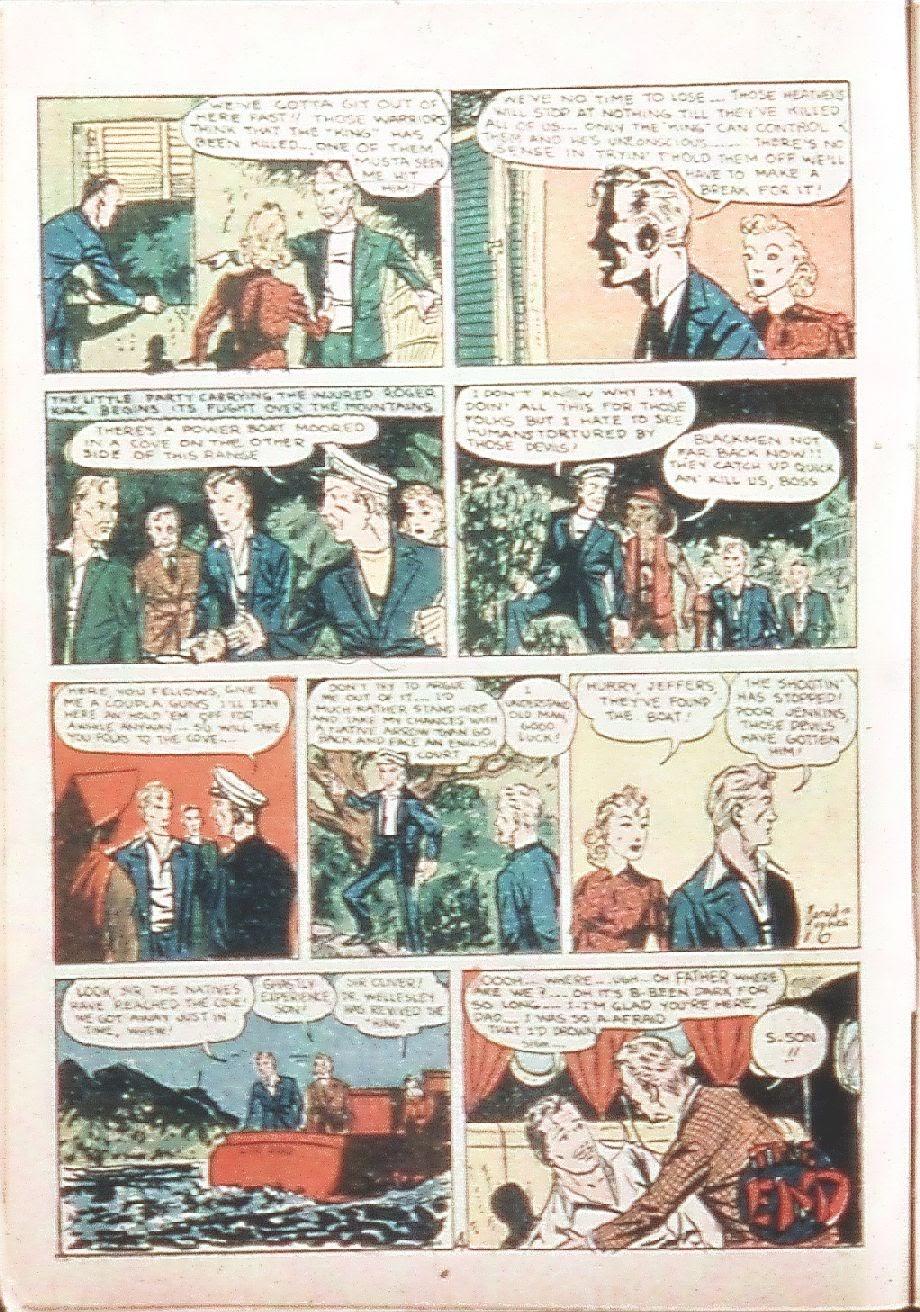 Read online Amazing Man Comics comic -  Issue #9 - 17