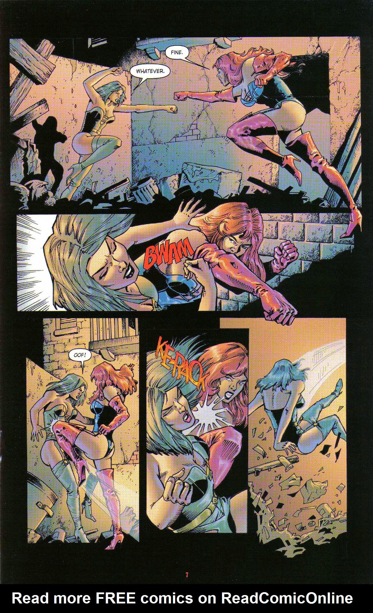 Read online Dominatrix comic -  Issue #6 - 9