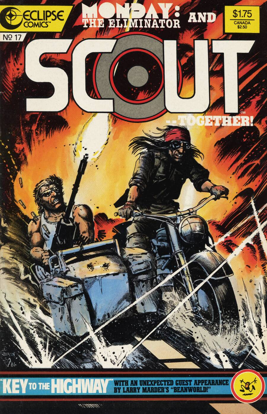 Read online Scout comic -  Issue #17 - 1