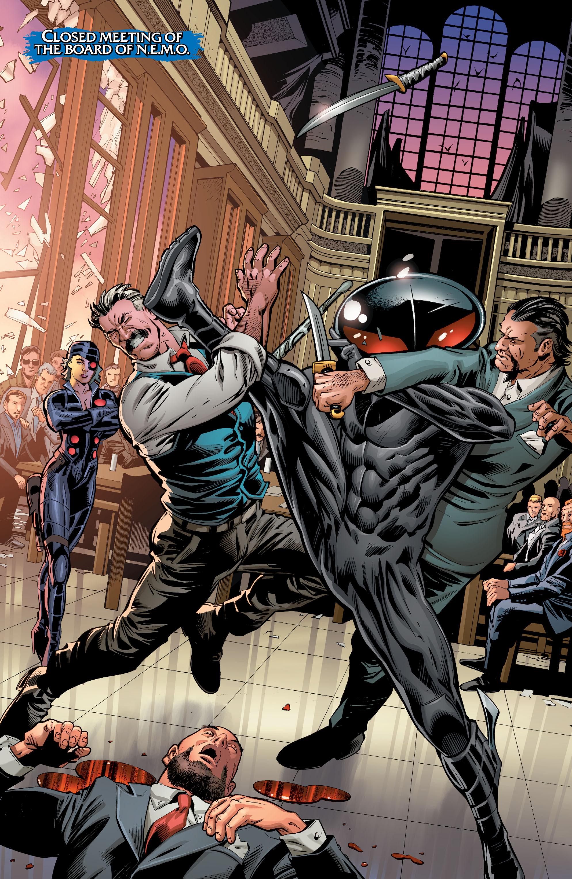 Read online Aquaman (2016) comic -  Issue #7 - 10