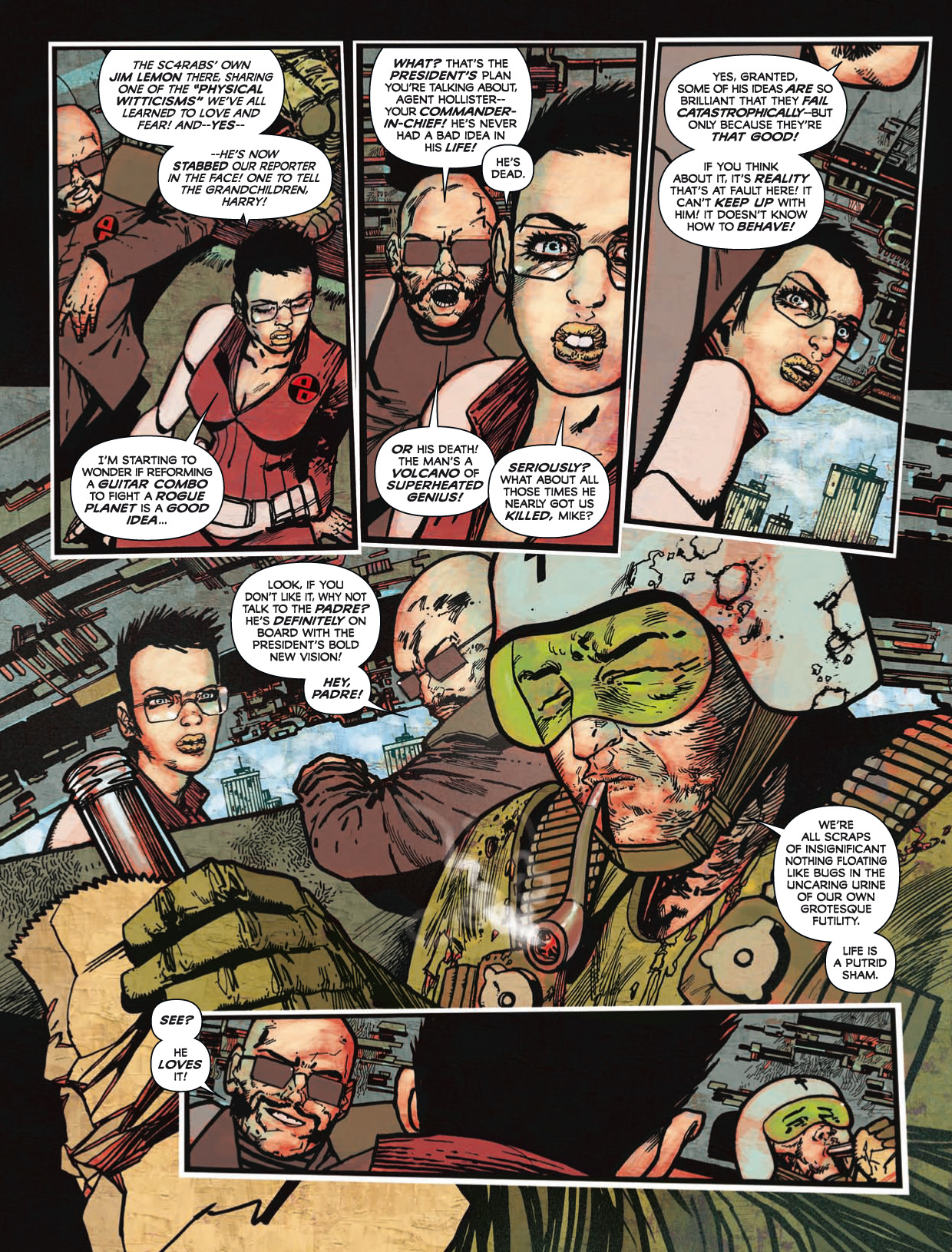 Read online 2000 AD comic -  Issue #1746 - 148