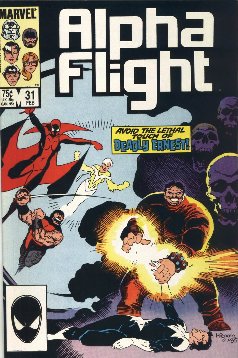 Read online Alpha Flight (1983) comic -  Issue #31 - 1