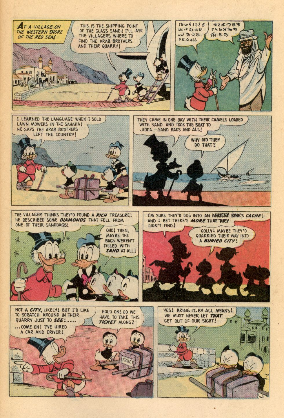 Read online Uncle Scrooge (1953) comic -  Issue #108 - 11