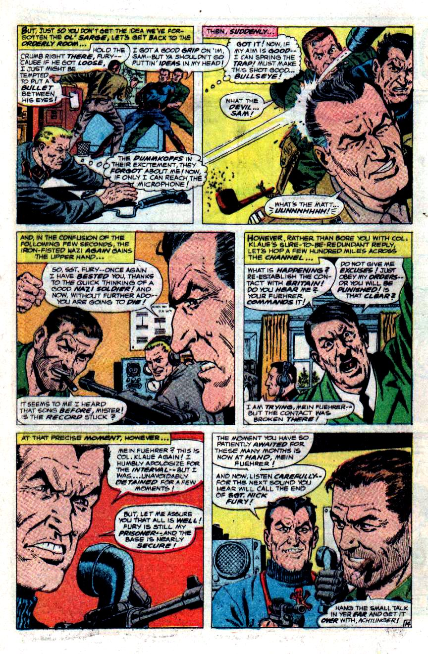 Read online Sgt. Fury comic -  Issue #48 - 19