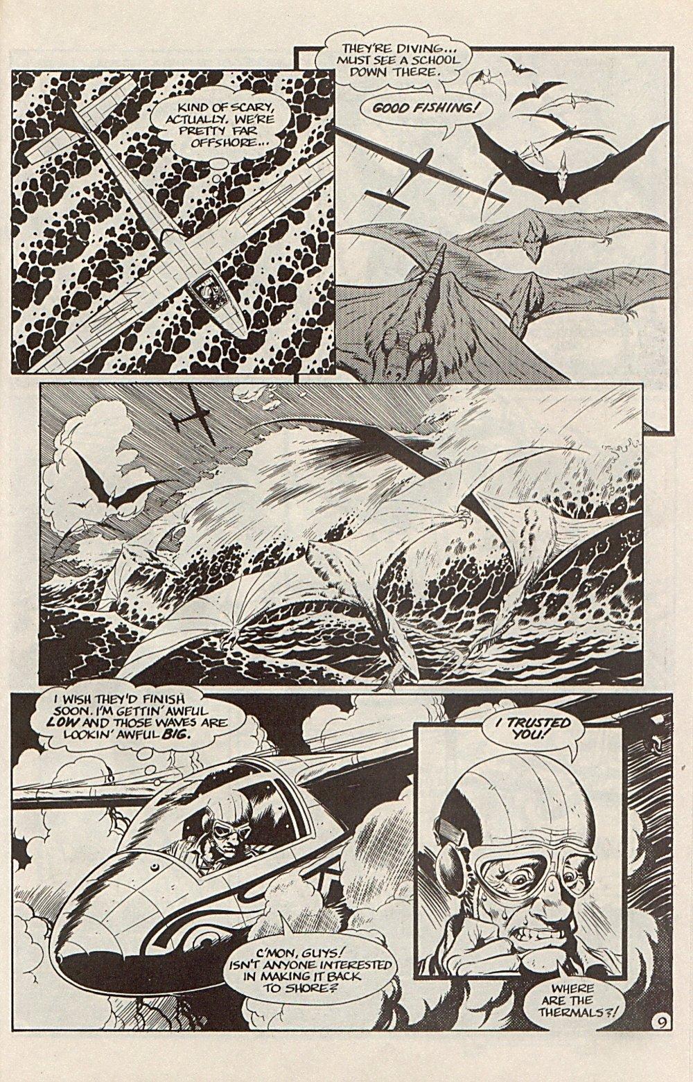 Read online Xenozoic Tales comic -  Issue #6 - 21