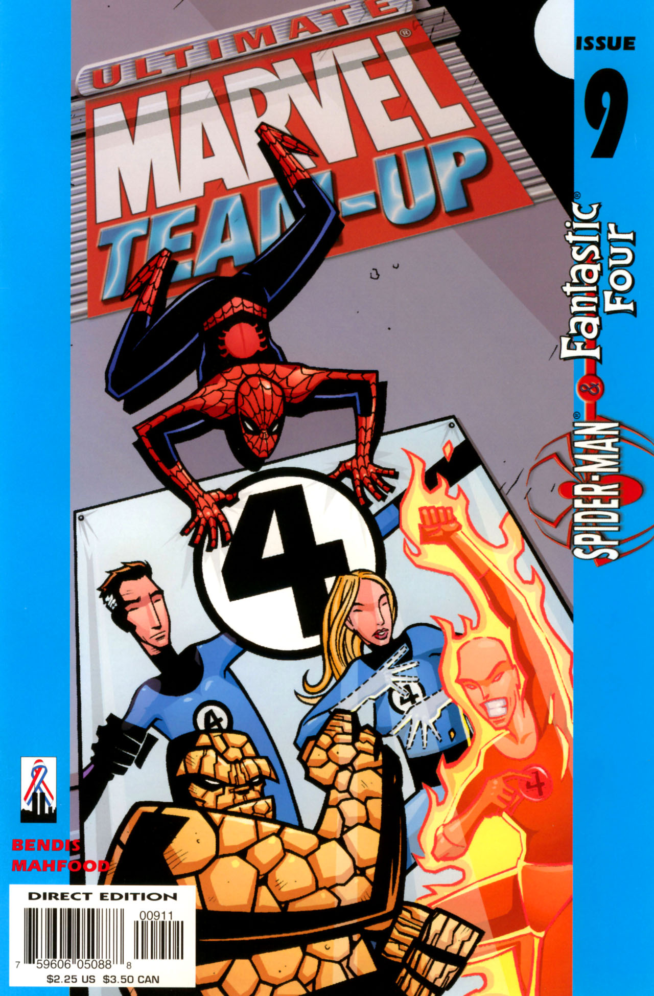 Read online Ultimate Marvel Team-Up comic -  Issue #9 - 1