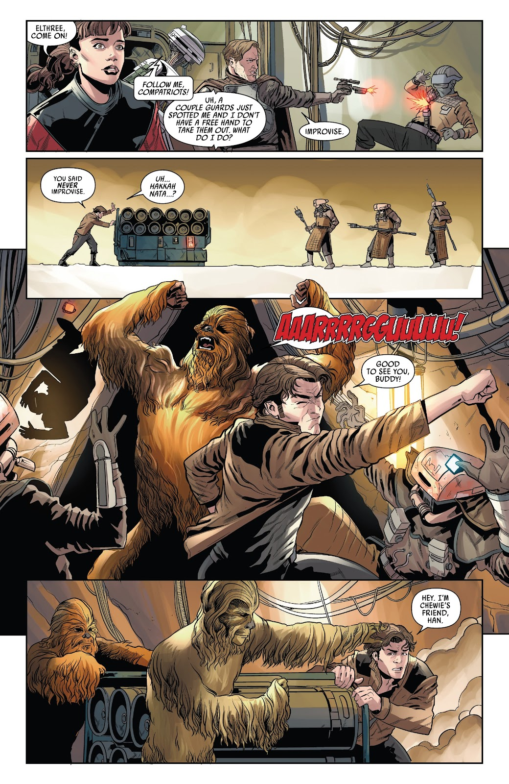 Read online Solo: A Star Wars Story Adaptation comic -  Issue #4 - 16