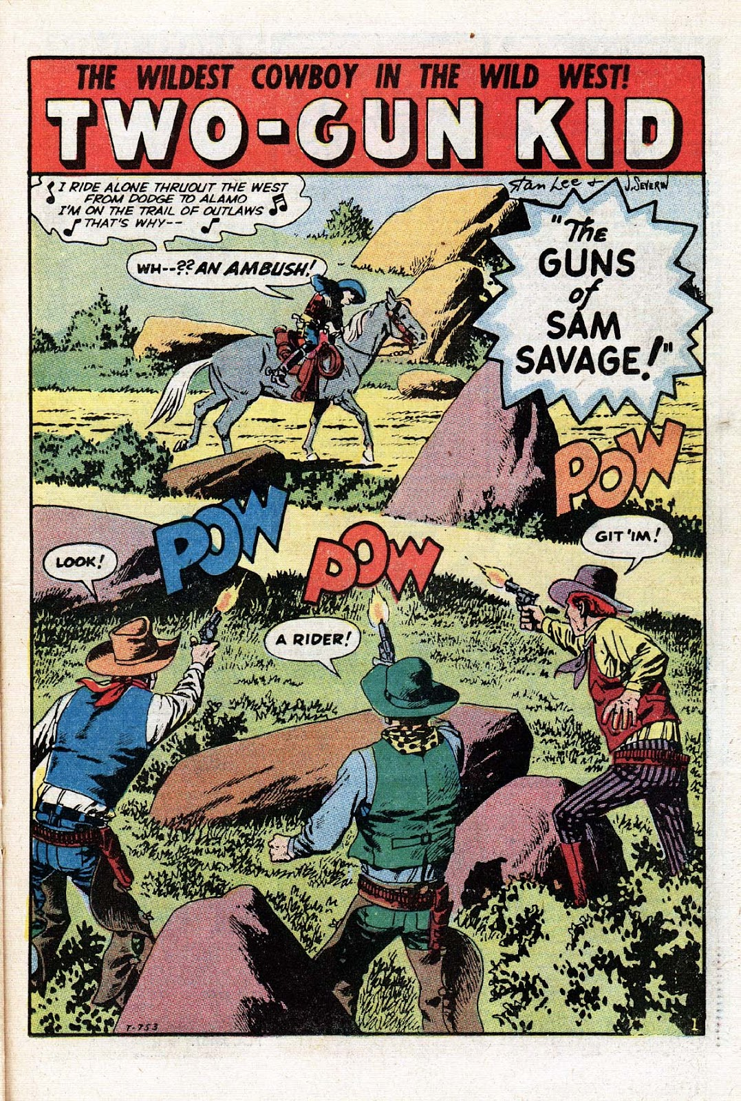 The Mighty Marvel Western issue 15 - Page 25