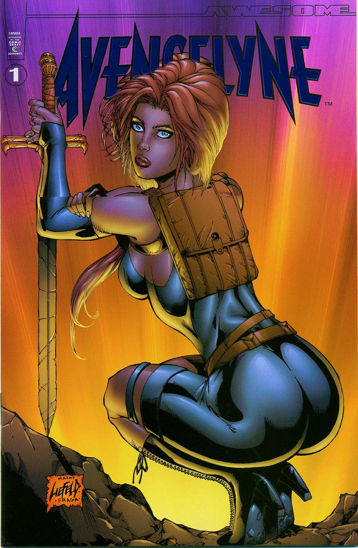 Read online Avengelyne (1999) comic -  Issue #Avengelyne (1999) Full - 1