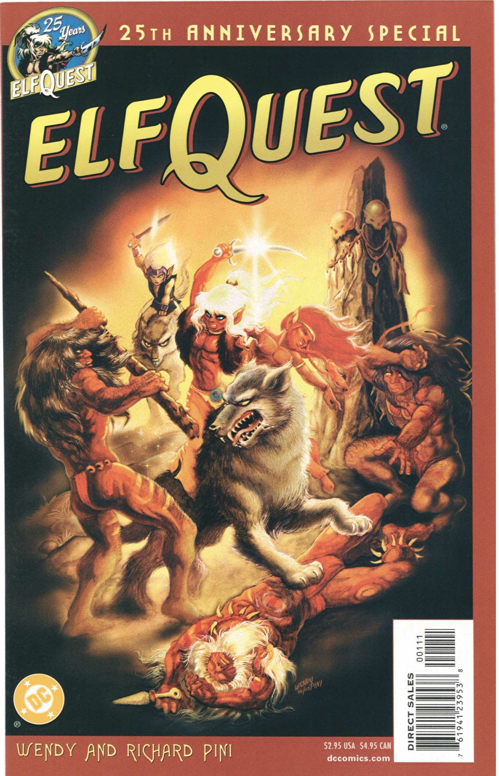 Elfquest 25th Anniversary Special Full Page 1