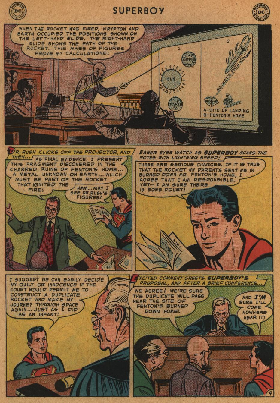 Superboy (1949) issue 63 - Page 5