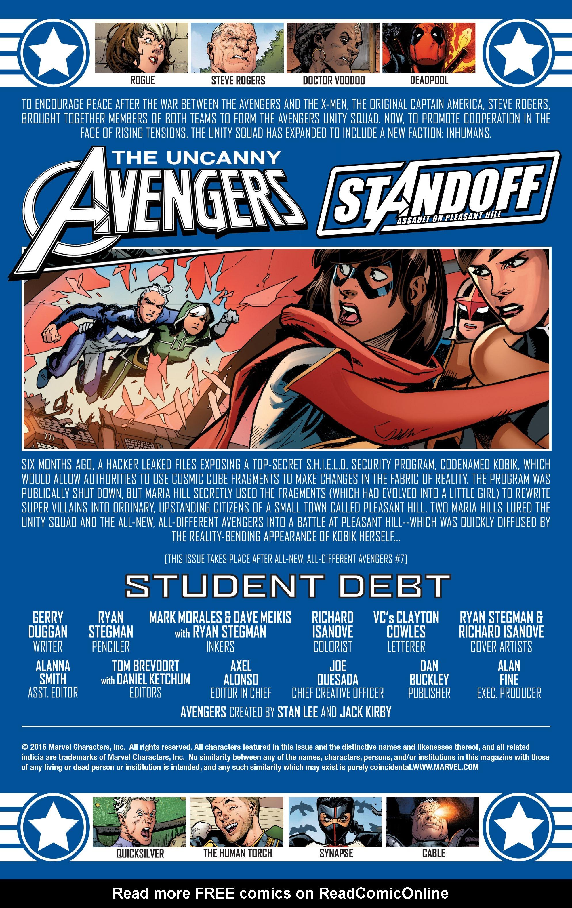 Read online Uncanny Avengers [II] comic -  Issue #8 - 2