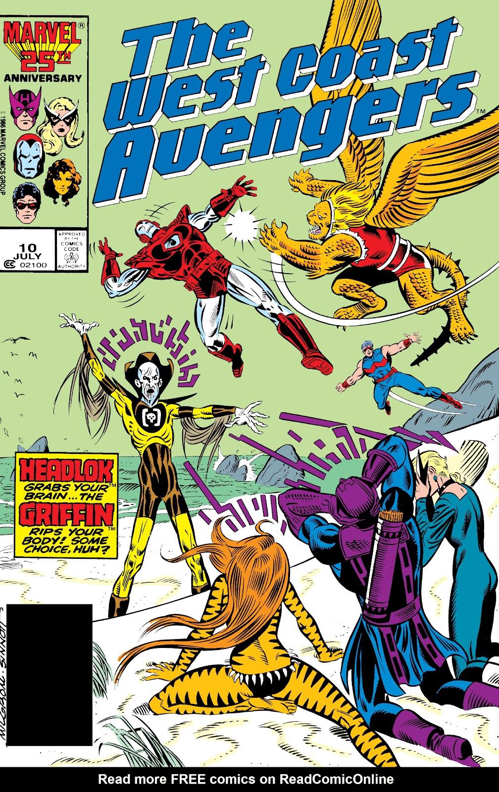 West Coast Avengers (1985) 10 Page 1