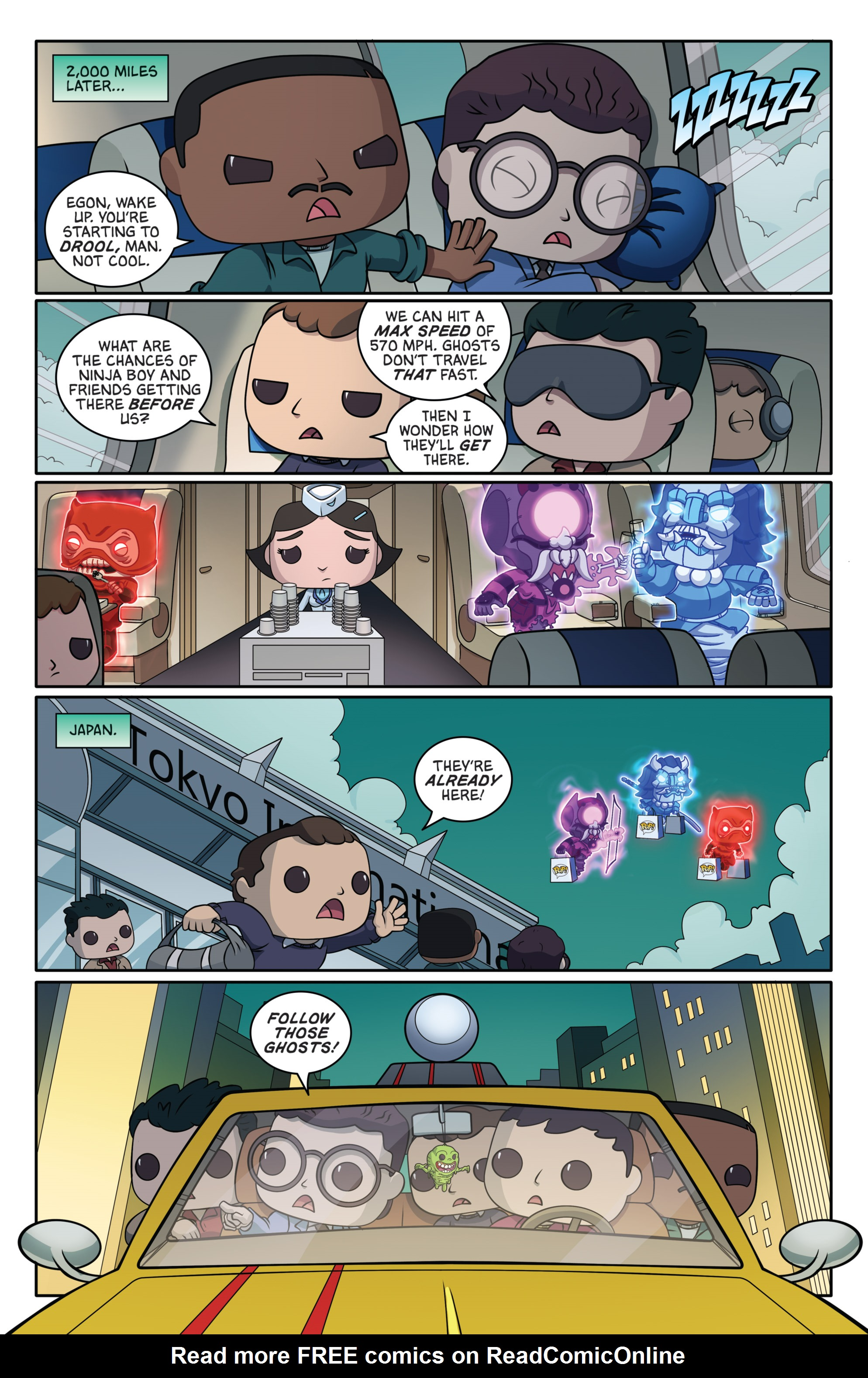 Read online Ghostbusters Funko Universe comic -  Issue # Full - 14