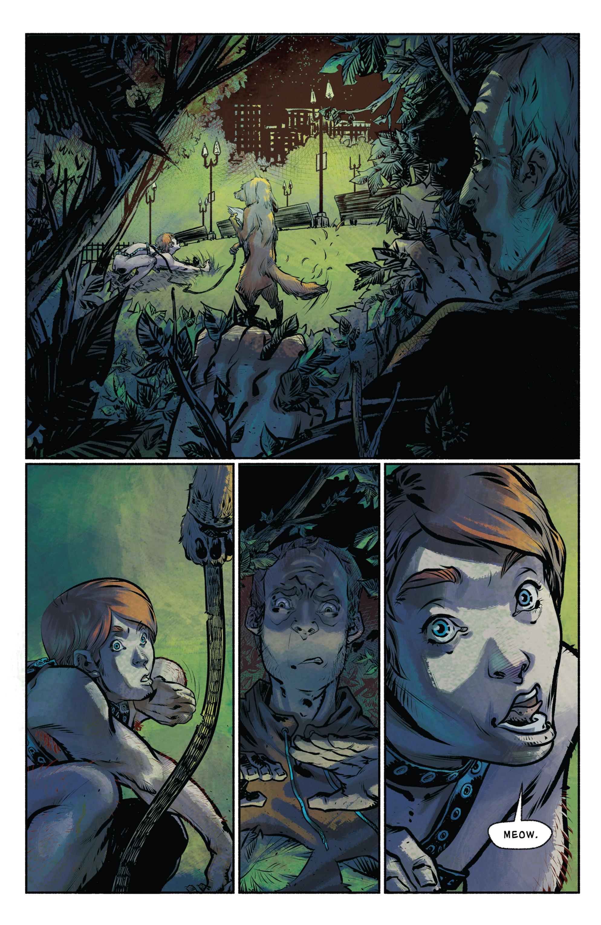 Read online Amazing Forest (2016) comic -  Issue #4 - 21