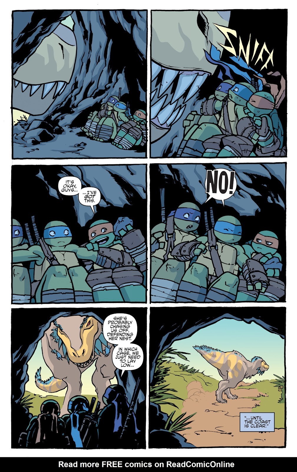 Read online Teenage Mutant Ninja Turtles: The IDW Collection comic -  Issue # TPB 5 (Part 1) - 15
