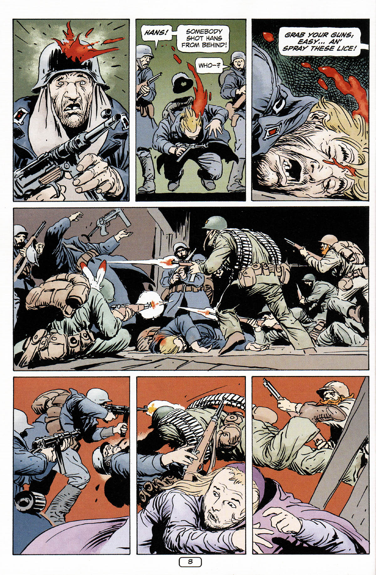 Read online Sgt. Rock: The Prophecy comic -  Issue #3 - 9