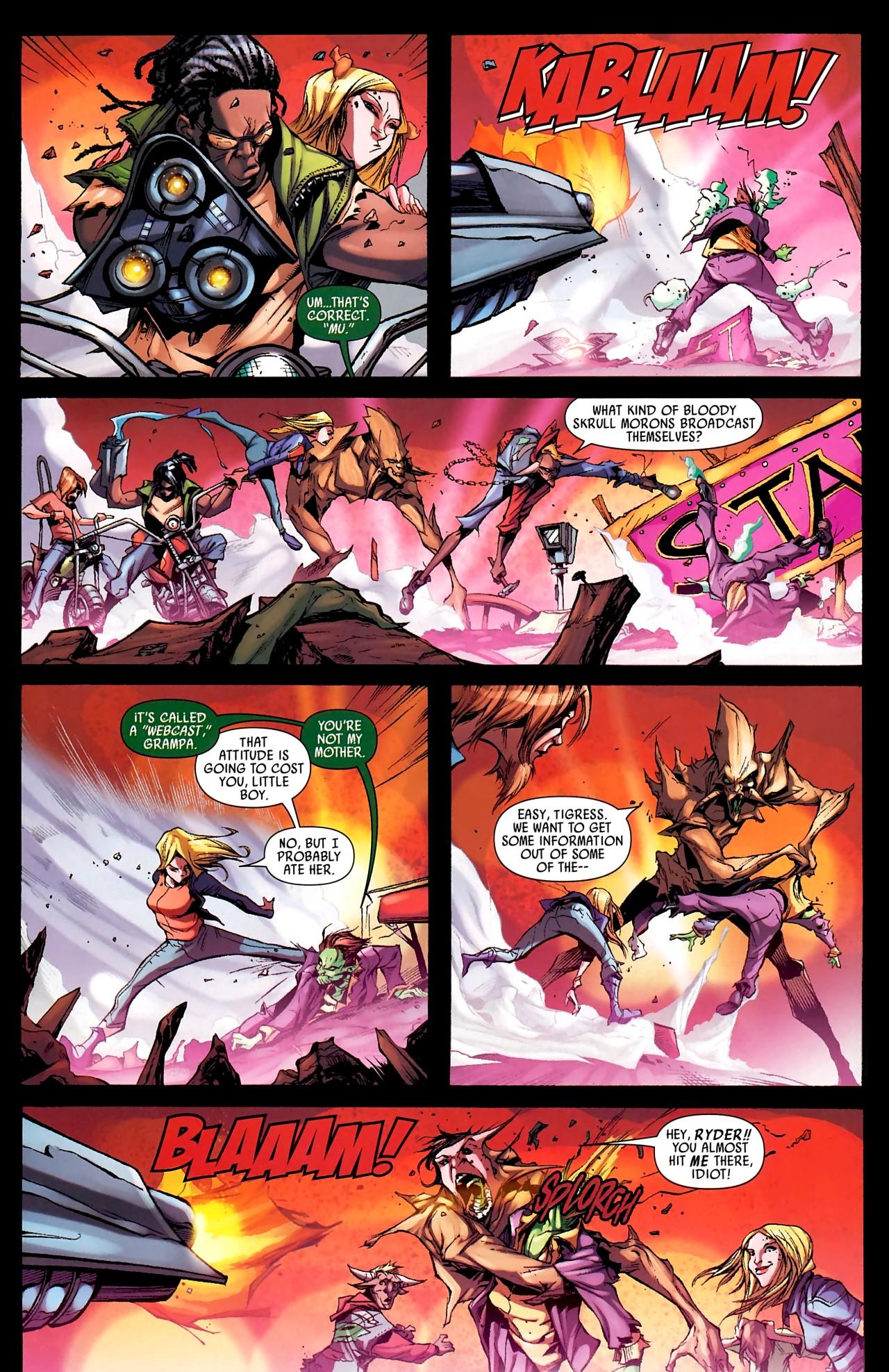 Read online Skrull Kill Krew (2009) comic -  Issue #4 - 8