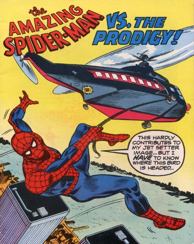 The Amazing Spider-Man vs. The Prodigy! Full Page 1