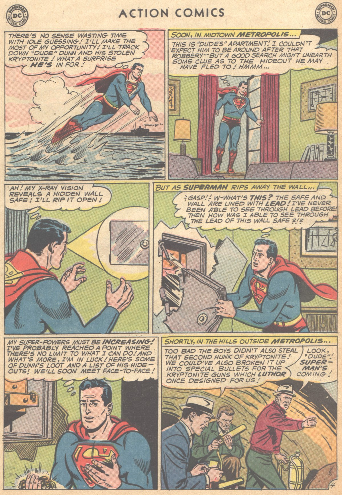 Read online Action Comics (1938) comic -  Issue #291 - 6