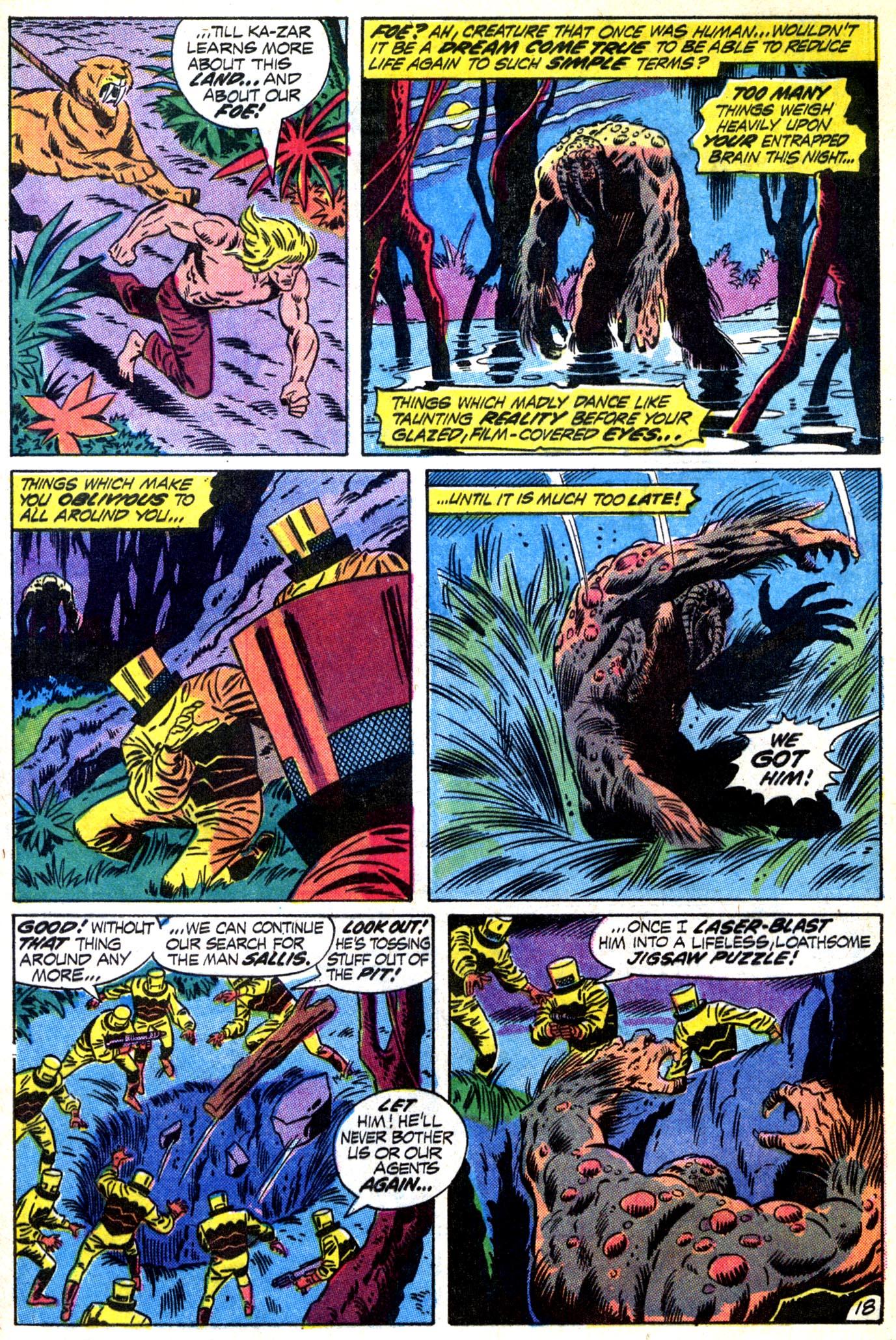 Read online Astonishing Tales (1970) comic -  Issue #12 - 19