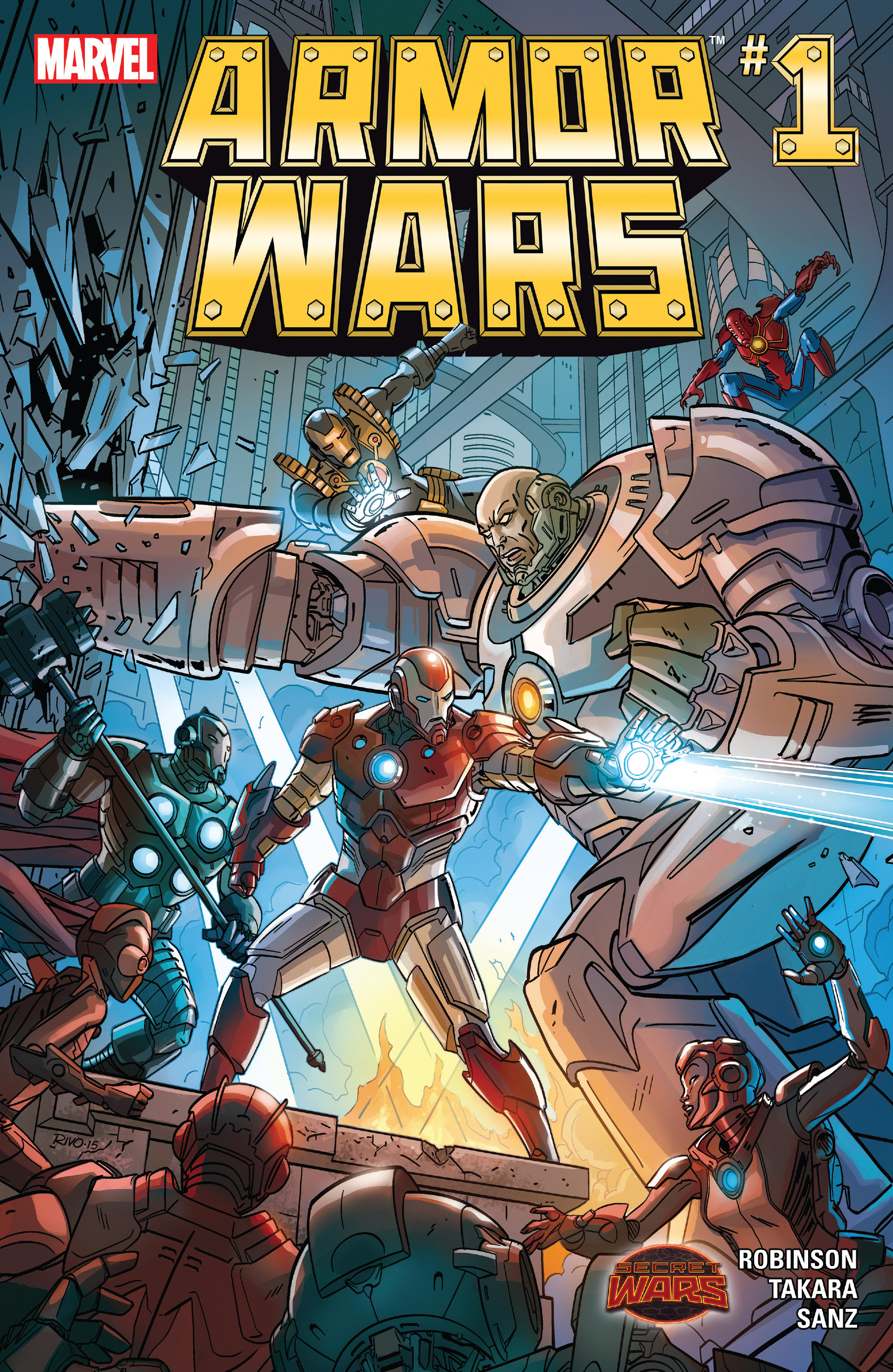 Read online Armor Wars comic -  Issue #1 - 1
