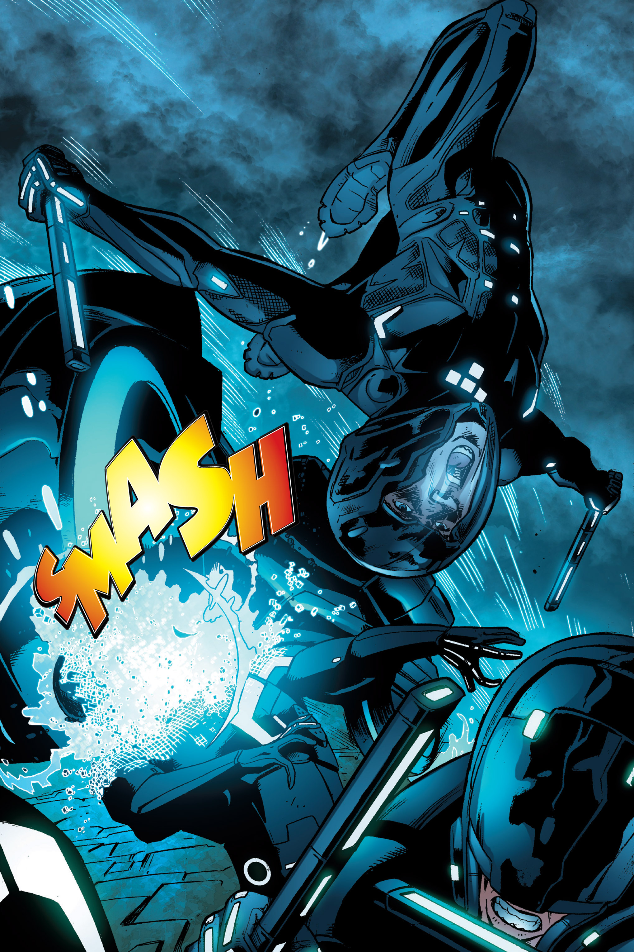 Read online TRON: Betrayal comic -  Issue # TPB - 99