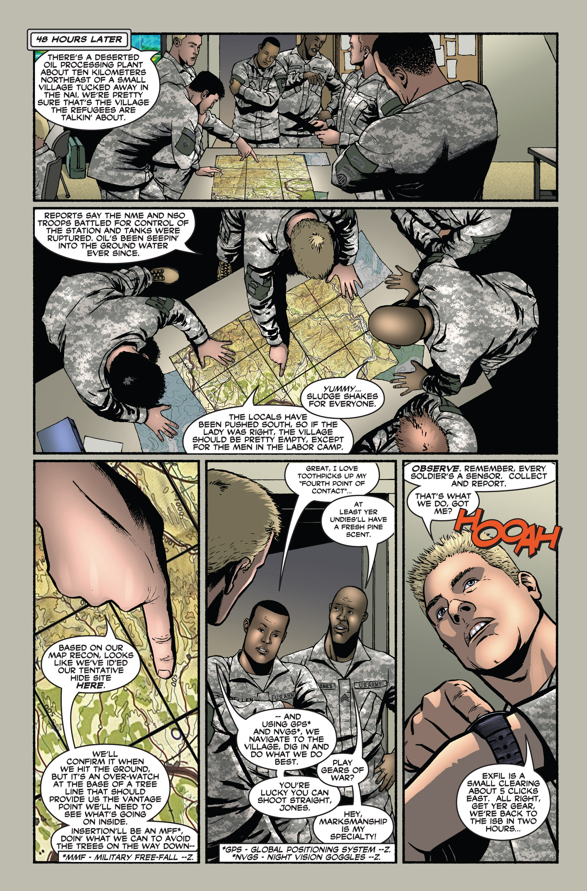 Read online America's Army comic -  Issue #1 - 13
