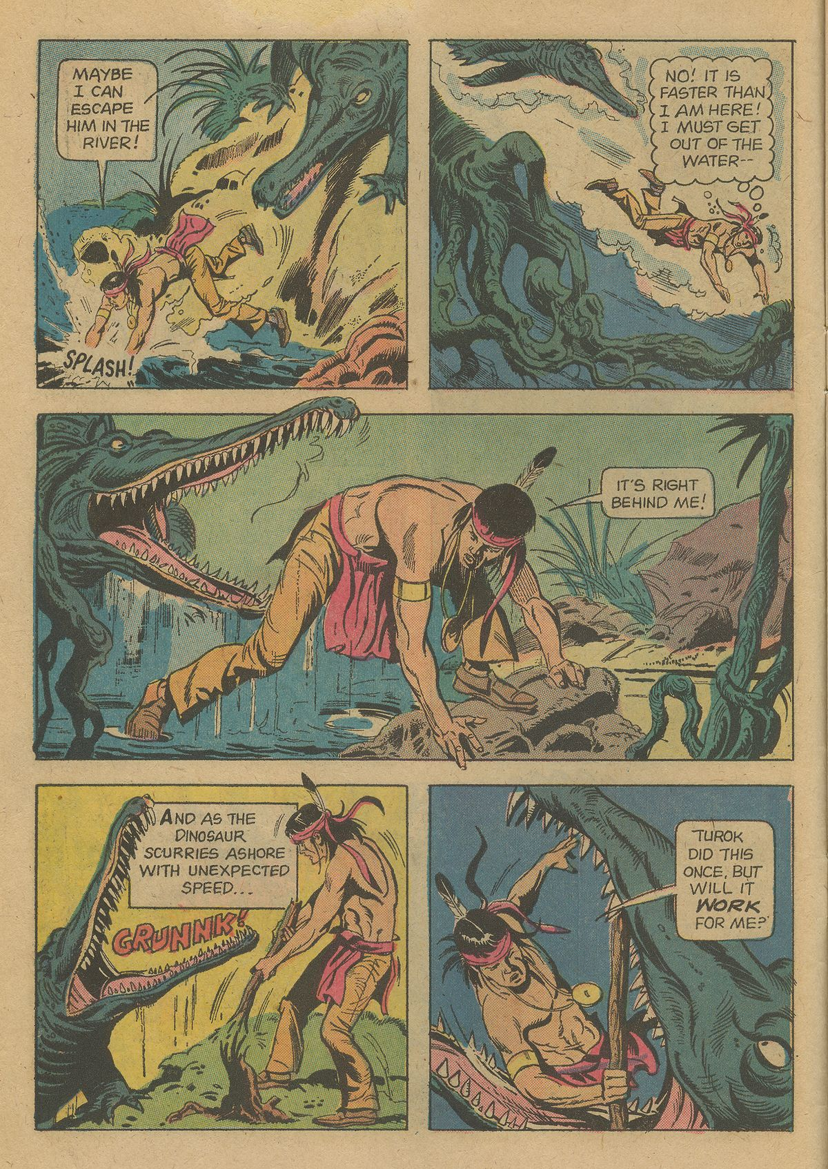 Read online Turok, Son of Stone comic -  Issue #96 - 10