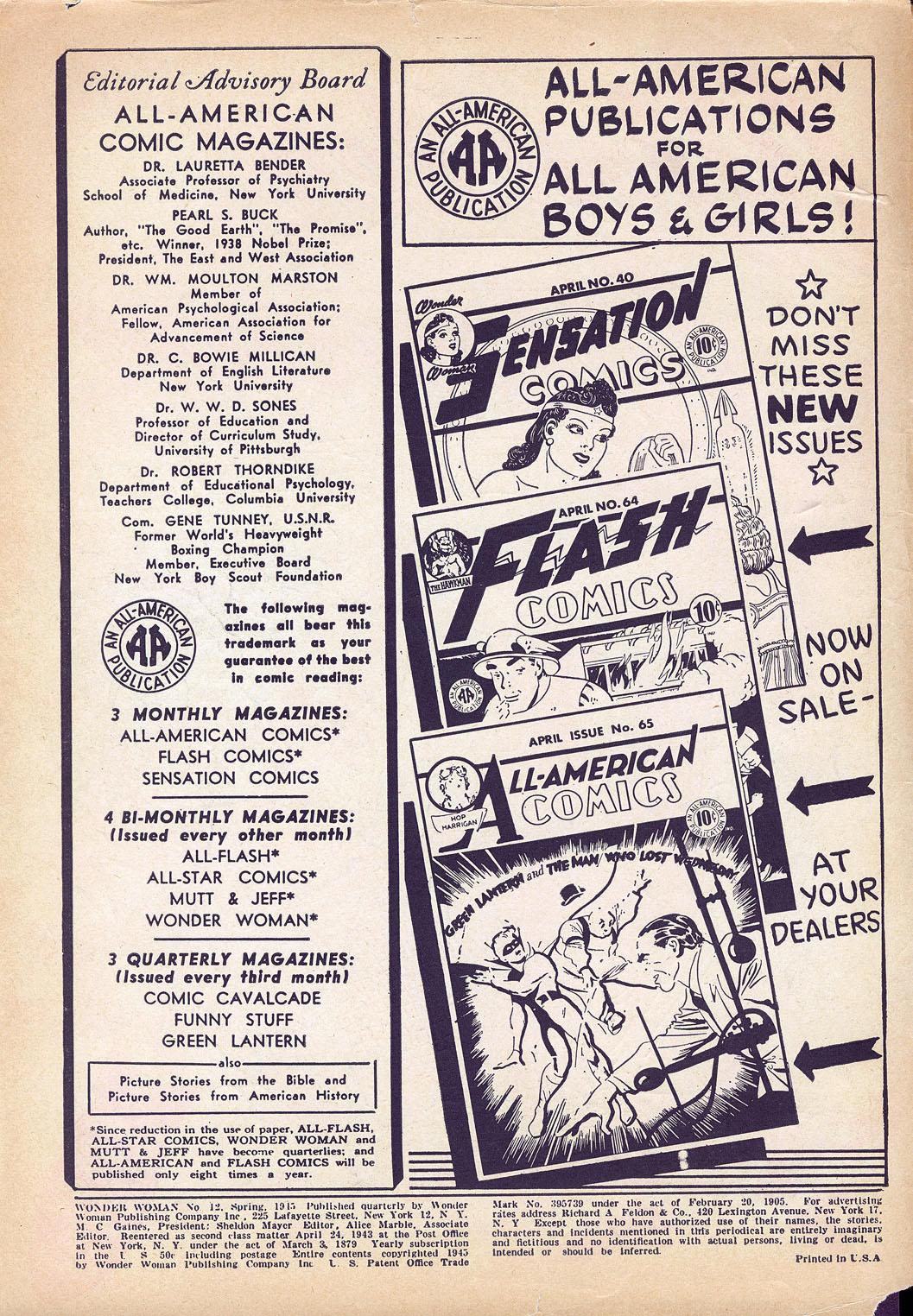 Read online Wonder Woman (1942) comic -  Issue #12 - 2