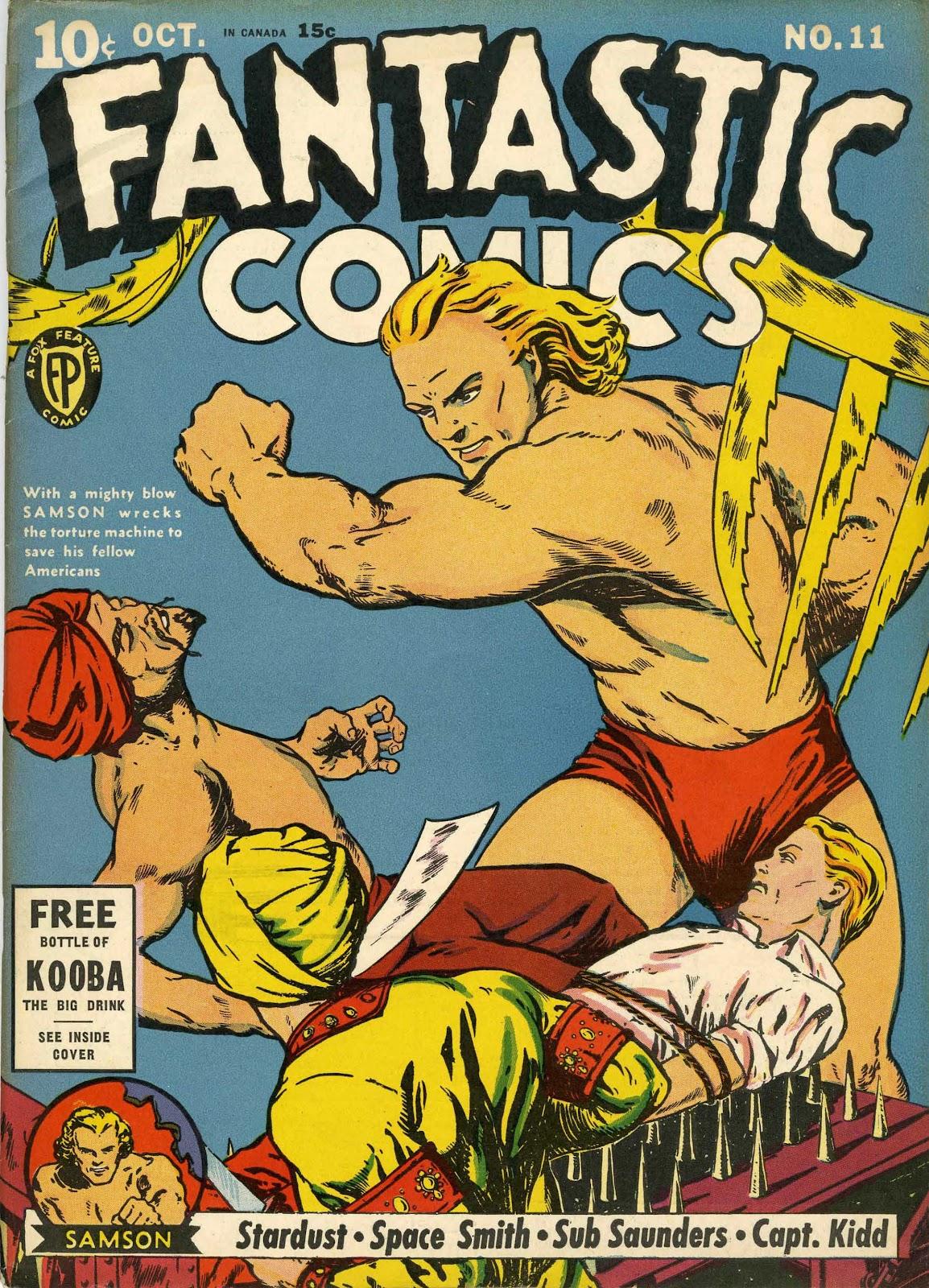 Read online Fantastic Comics comic -  Issue #11 - 1