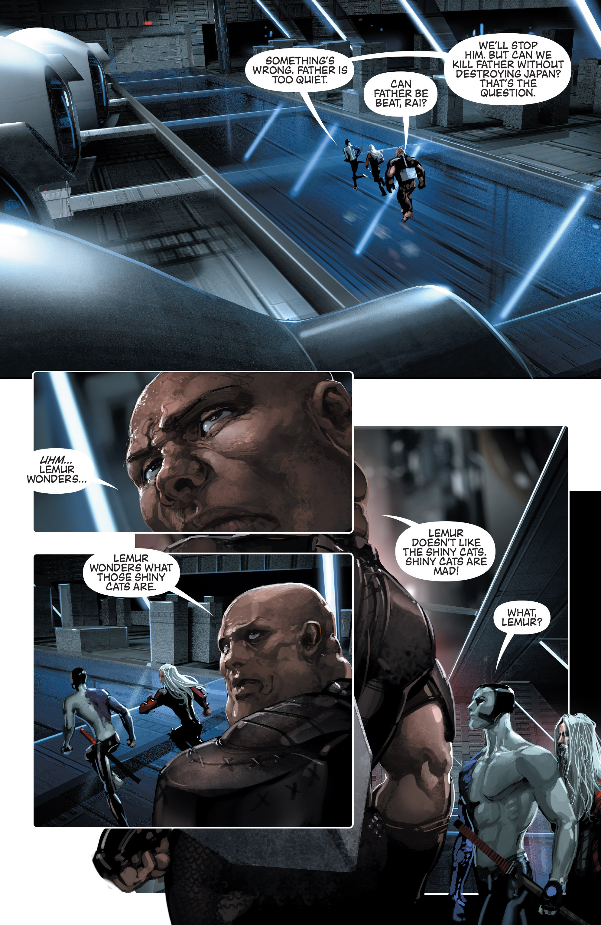 Read online 4001 A.D. comic -  Issue #2 - 21
