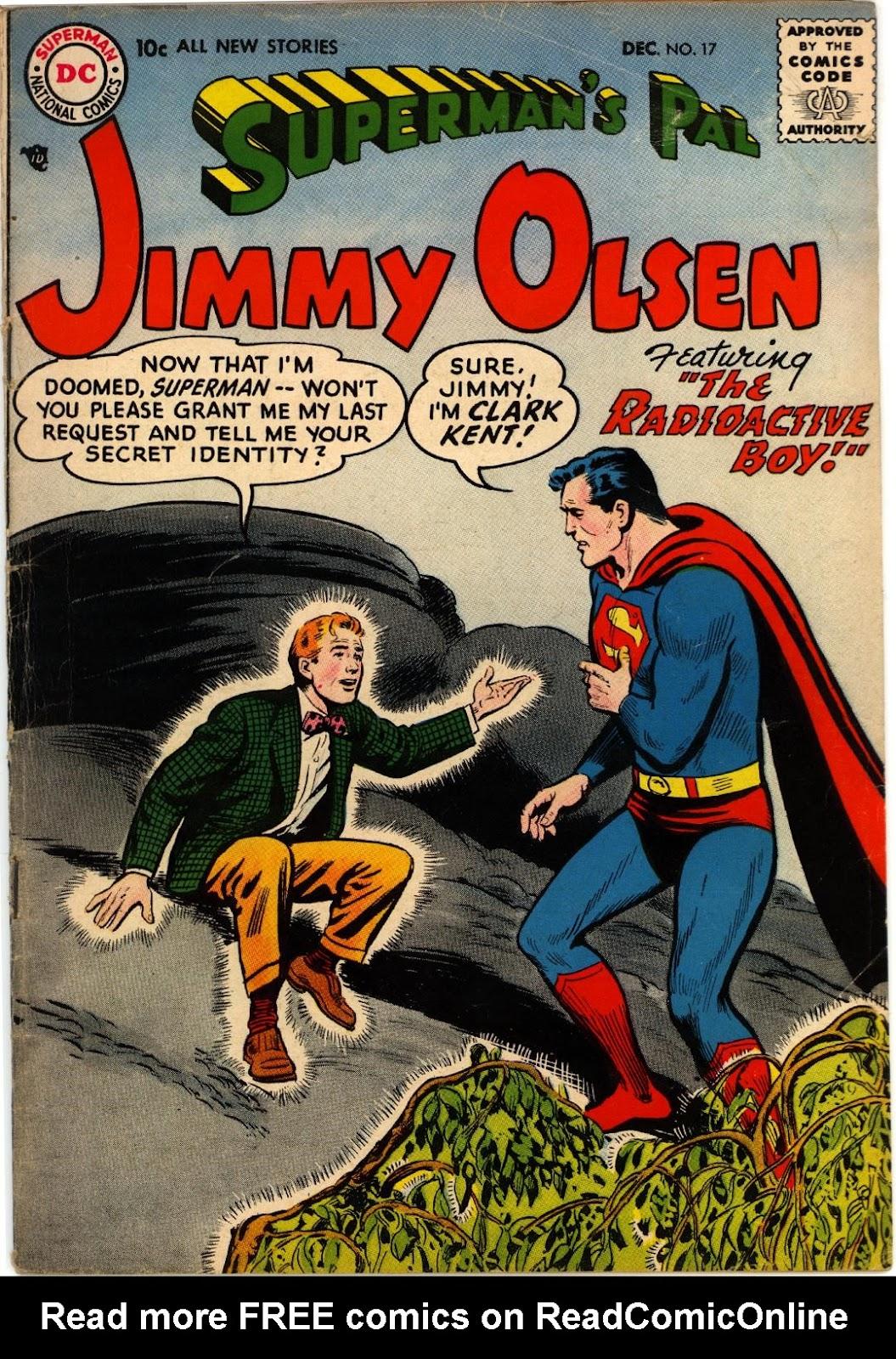 Supermans Pal Jimmy Olsen (1954) 17 Page 1