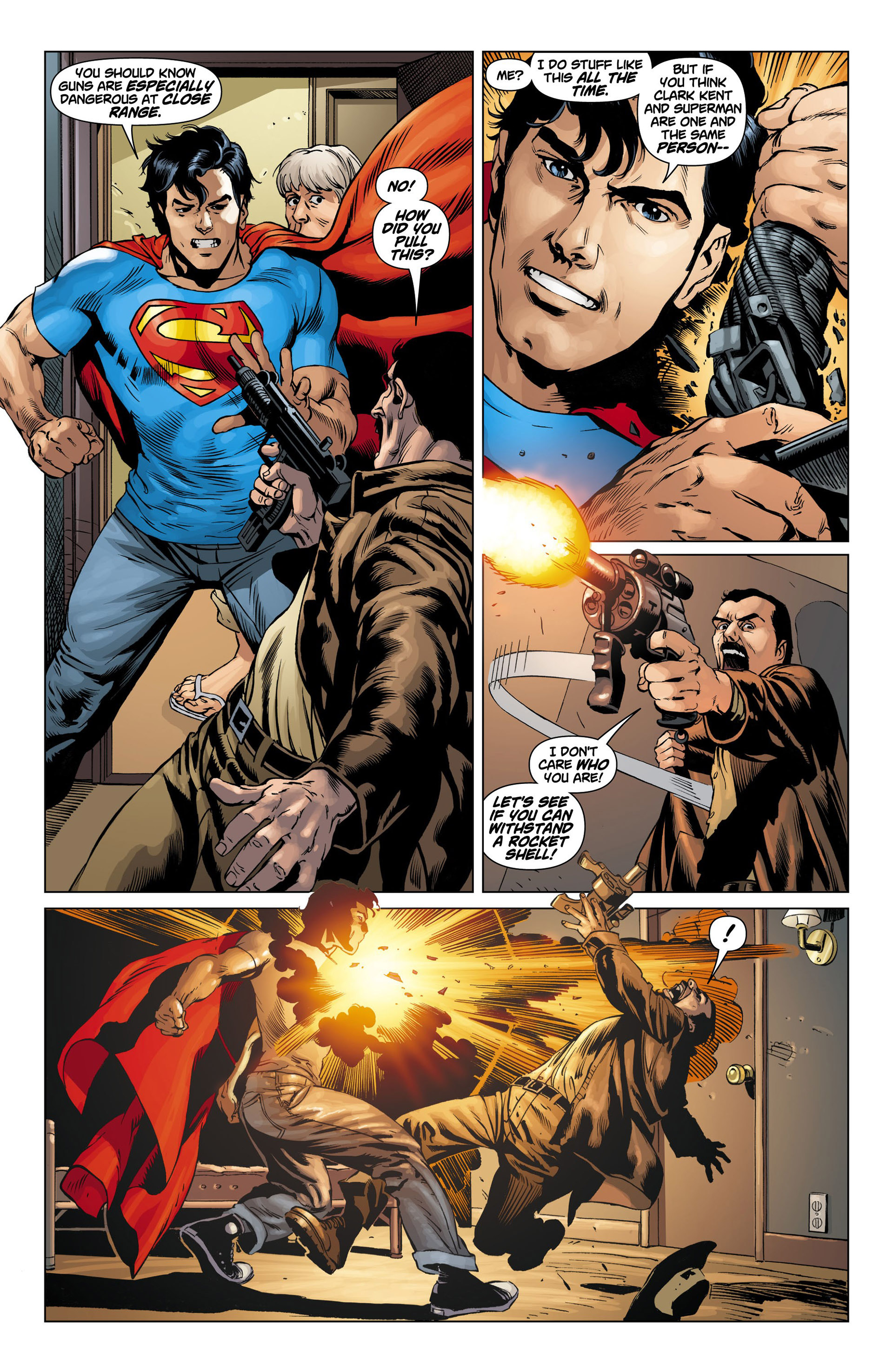Read online Action Comics (2011) comic -  Issue #10 - 18