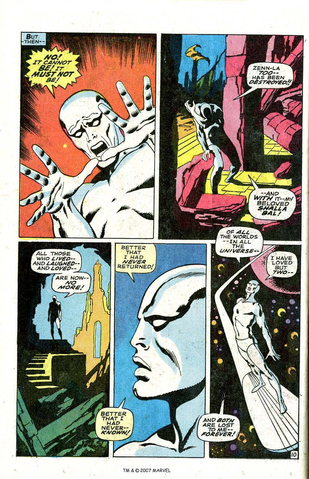 Read online Silver Surfer (1968) comic -  Issue #6 - 12