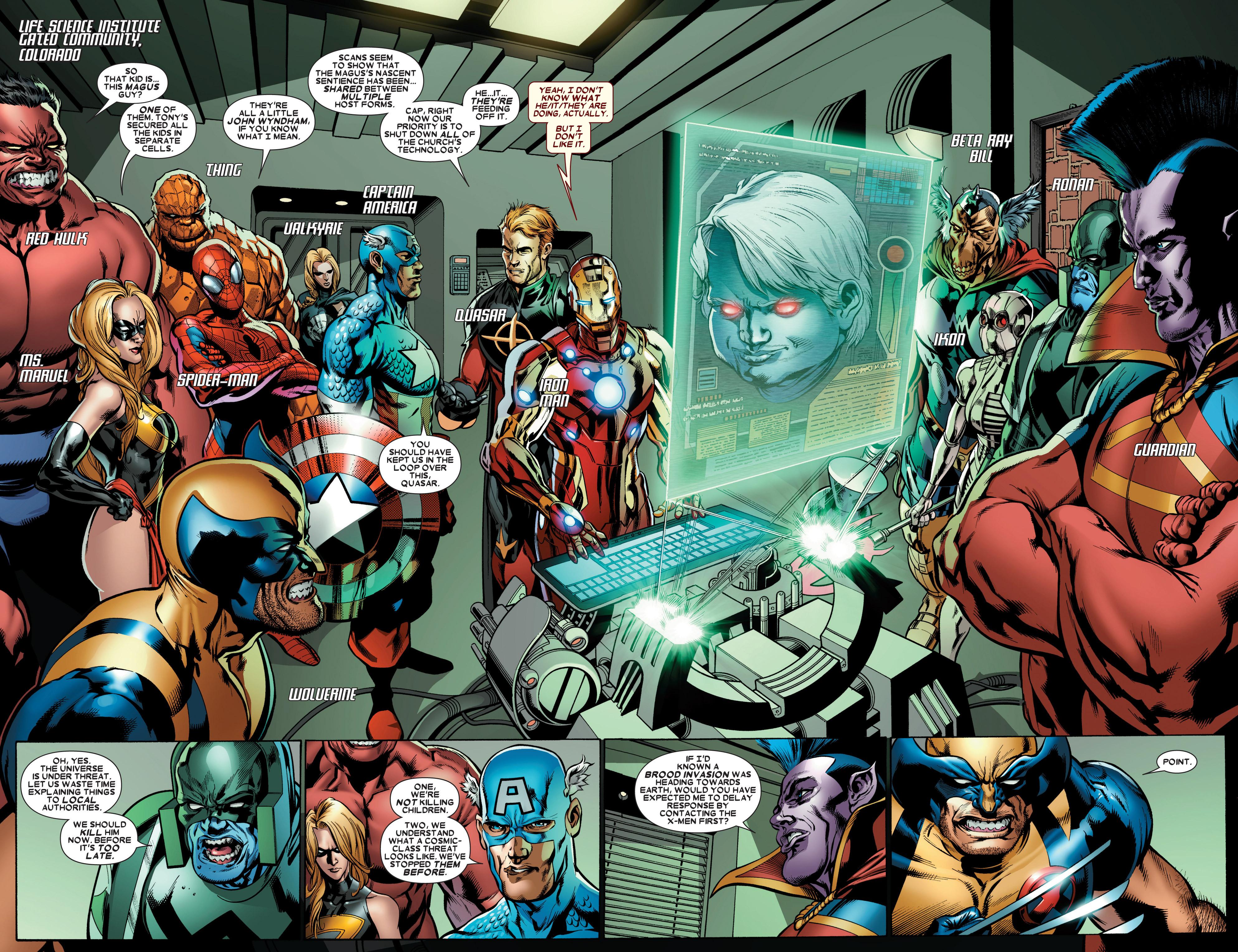Read online Annihilators: Earthfall comic -  Issue #3 - 4