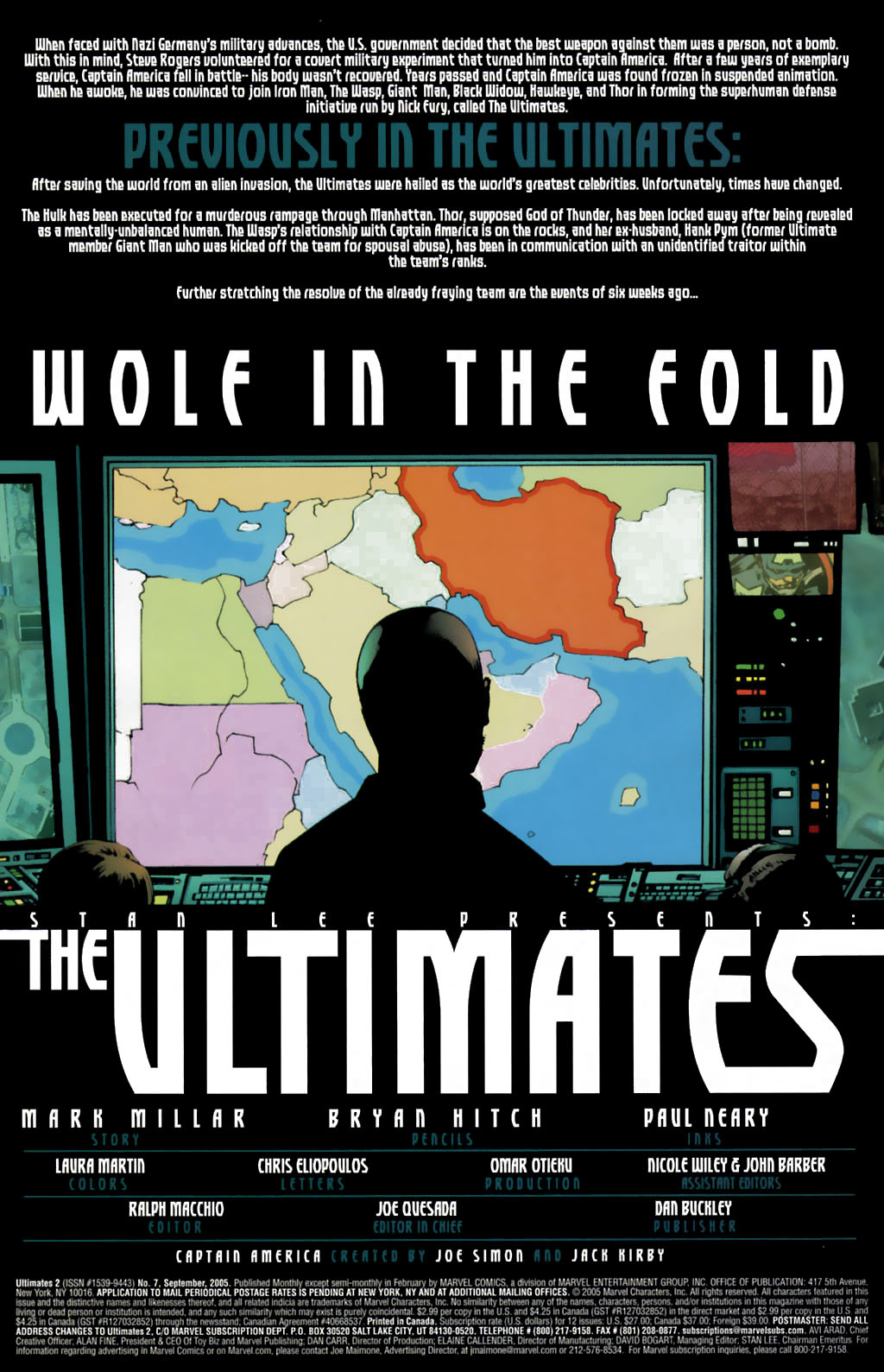 Read online Ultimates 2 comic -  Issue #7 - 2
