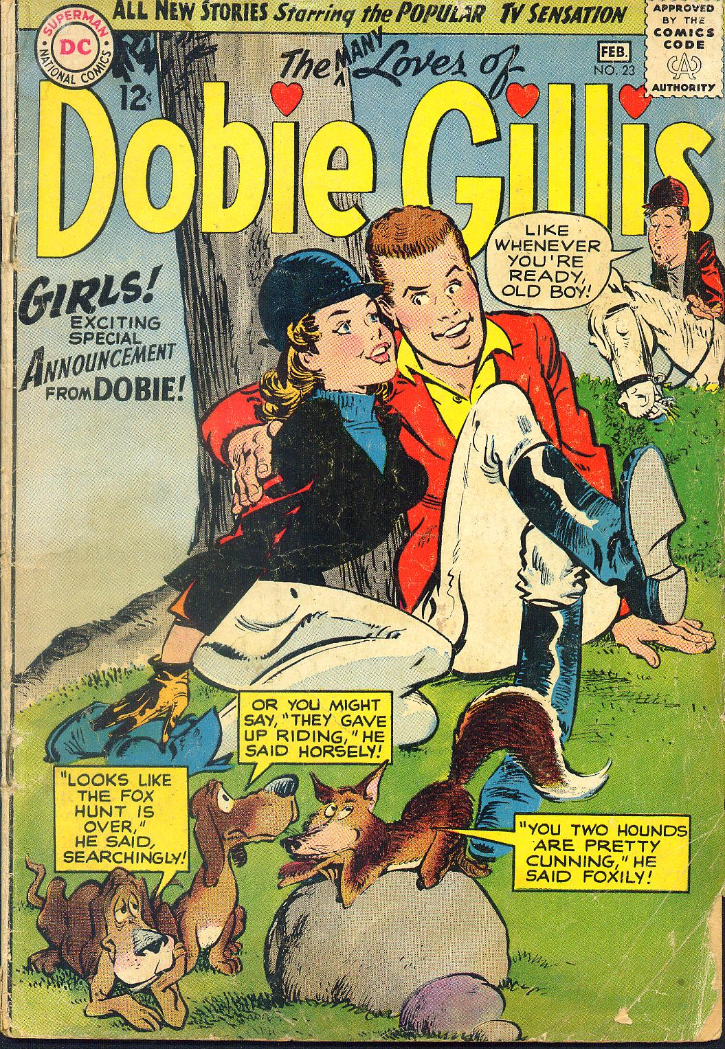 Many Loves of Dobie Gillis issue 23 - Page 1