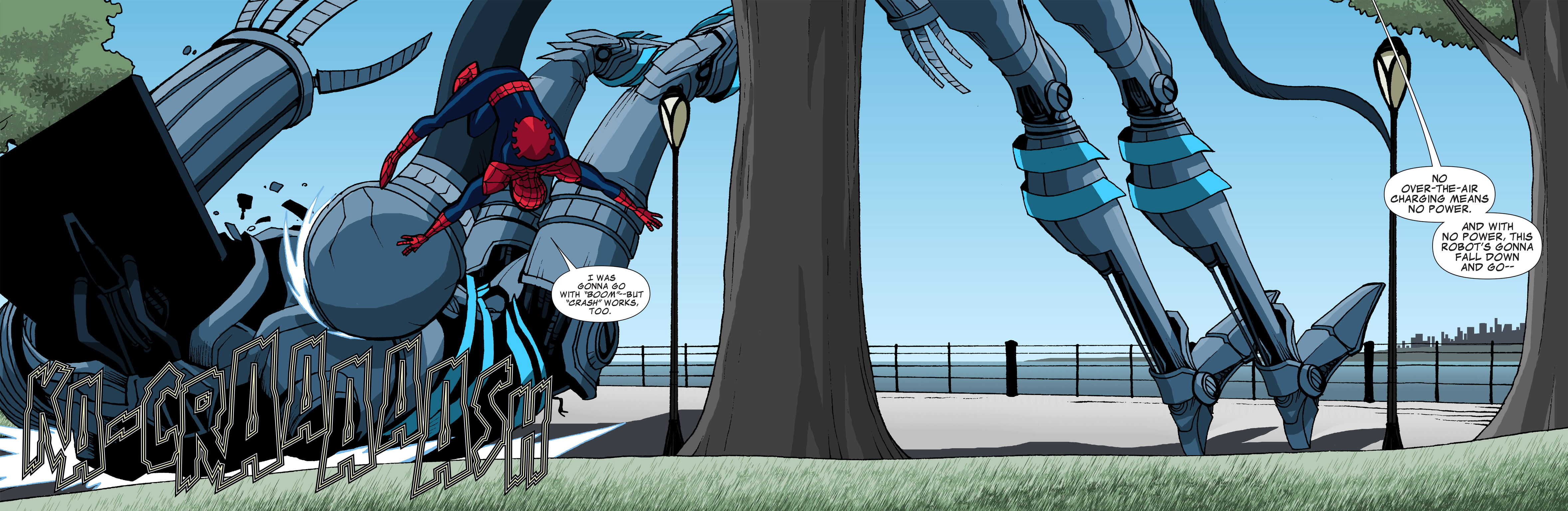 Read online Ultimate Spider-Man (Infinite Comics) (2015) comic -  Issue #6 - 36